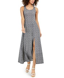 Paisley-Print Scoop-Neck Maxi Dress , Regular & Petite