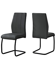 "Dining Chair - 2 Piece 39"" H"