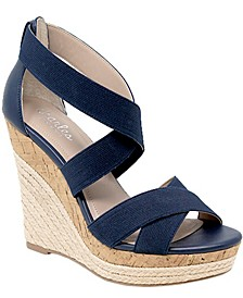 Azures Wedge Sandals