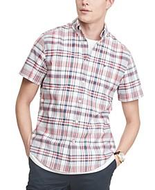 Men's Archie Custom-Fit Plaid Shirt