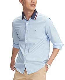Men's Custom-Fit Stretch Mayer Oxford Shirt