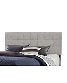 Delaney Full/Queen Upholstered Headboard with Metal Bed Frame