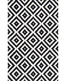 Harmony Contemporary Kellee Black 5' x 8' Area Rug