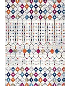"Bodrum Moroccan Blythe Multi 6'7"" x 9' Area Rug"