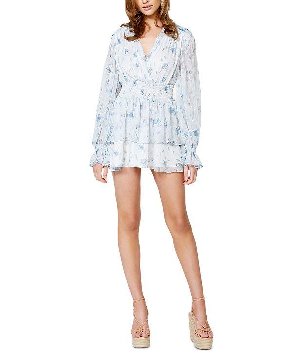 Bardot Malina Floral-Print Tiered Dress