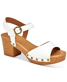 Anddreas Platform Block-Heel Sandals, Created for Macy's