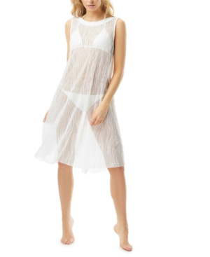 Sequin High-Neck Swim Dress Cover-Up Women's Swimsuit