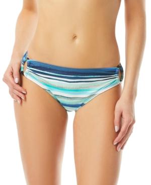 Striped Ring Hipster Bikini Bottoms Women's Swimsuit