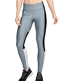 Women's HeatGear® Perforated Colorblocked Leggings