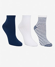 Women's 3-Pk. Pointelle Anklet Socks