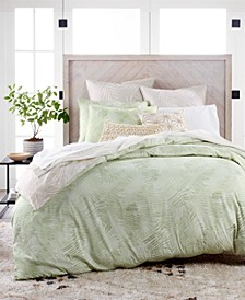 CLOSEOUT! Paradise Cotton 230-Thread Count 2-Pc. Twin Duvet Set, Created for Macy's