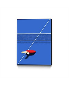 Robert Farkas Ping Pong Art Block Framed
