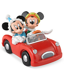Department 56 Mickey's Village Mickey's and Minnie Holiday Collectible Figurine