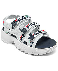 Fila Little Boys' Disruptor Athletic Sandals from Finish Line