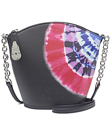 Lock Tie Dye Bucket Crossbody