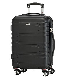 San Marino Collection 20'' Lightweight Carry-on Spinner Luggage Bag
