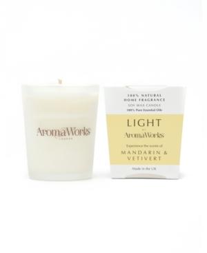 Light Range Mandarin and Vetivert Candle
