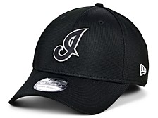 Cleveland Indians   Clubhouse Black White 39THIRTY Cap