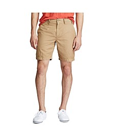 "Men's Classic Fit 8.5"" Cotton Linen Blend Short"