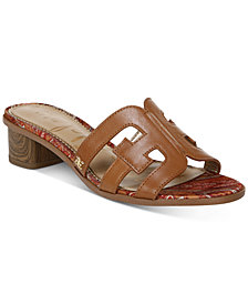 Sam Edelman Illie Logo Slide Sandals
