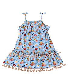 Toddler Girls Hibiscus Dress