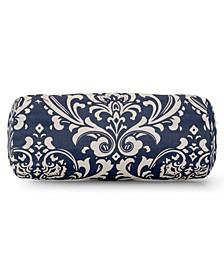 "French Quarter Decorative Round Bolster Pillow 18.5"" x 8"""