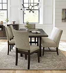 Parker Mocha Dining Collection, Created for Macy's