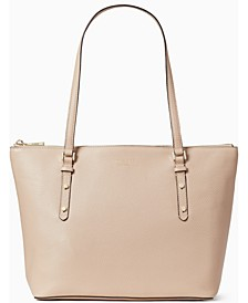 Polly Leather Tote