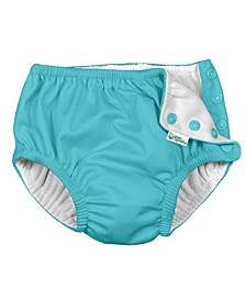 Baby Boy and Girl Snap Reusable Absorbent Swim Diaper