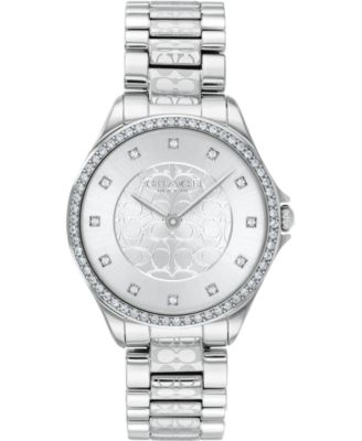 코치 여성 손목 시계 COACH Womens Astor Stainless Steel Bracelet Watch 31mm