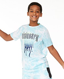 Big Boys Visionary Print T-Shirt, Created for Macy's