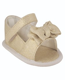 Baby Girls Peep Toe Espadrille