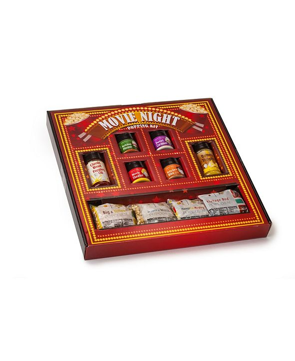 Wabash Valley Farms Vintage Inspired Movie Night Marquee Gift Set