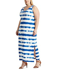 Plus Size Slim-Fitting Maxidress