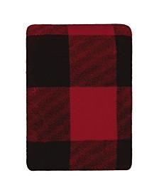 Inc Knit Printed Blanket Buffalo Plaid
