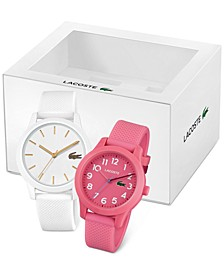 Women's 12.12 Silicone Strap Watch, 36mm Gift Set