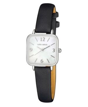 Women's Black Polyurethane Strap Watch 24mm