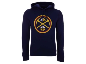 Men's Denver Nuggets Halpert Primary Logo Hoodie