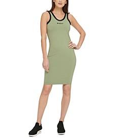 Sport Logo Ringer Tank Top Dress