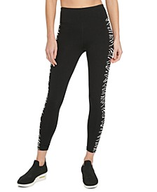 Sport Zebra-Print High-Waist Leggings