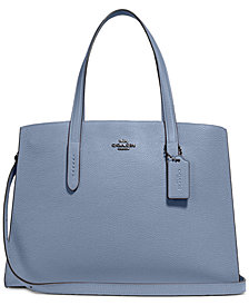 COACH Charlie Medium Carryall in Pebble Leather