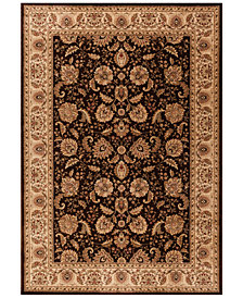 "CLOSEOUT! Kenneth Mink Runner Rug Warwick Kashan Brown/Wheat 2'3"" x 7'7"""