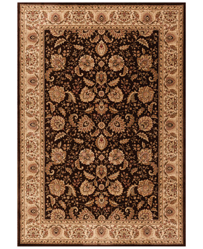CLOSEOUT! Kenneth Mink Area Rug Warwick Kashan Brown/Wheat 7'10