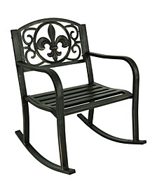 Outdoor Patio Rocking Chair Deck and Porch Rocker Seat