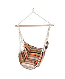 Hanging Hammock Chair Swing For Includes 2 Seat Cushions
