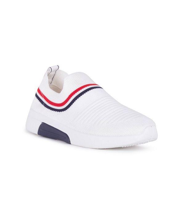 Danskin CONTROL Slip On Sneaker with Striping Detail