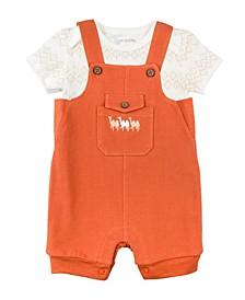 Baby Boy 2-Piece Shortall Set