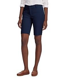 Petite Stretch Cotton Shorts
