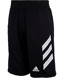 Little Boys Pro Sport 3-Stripe Shorts