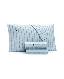 Tommy Hilfiger Dune Stripe Twin Xl Sheet Set